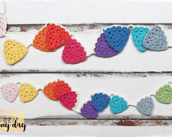 Think Bright Rainbow Bunting - two sizes and different lengths