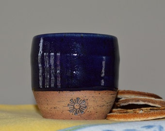 wine cup, sake cup, whiskey cup, drinking cup, drinkware, blue cup, shot glass, tea cup