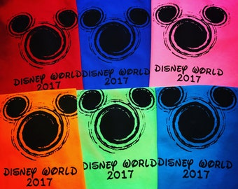 Disney Shirts - Matching Disney Family Shirts - 2017 tshirts - Disney Vacation shirts