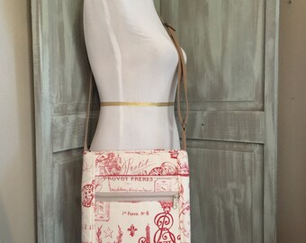 Paris Two Zip Hipster Bag with an Adjustable Strap