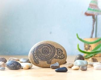 Hippo Art/ Hippopotamus Gift/ Cute Gift/ Bohemian Decor/ Hippo Gift/ Hippopotamus Decor/ Home Decor/ Gift for Him/ Gift For Her