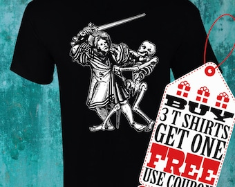 Death Tshirt - for Man and for Woman!!! Screen printing!!!