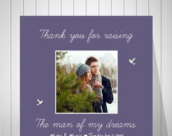 Wedding Gift For Groom Parents, Gift From Bride, Of The Bride Parents, Wedding Gift, Wedding Canvas Print, Of The Groom Parents Gift - 70477