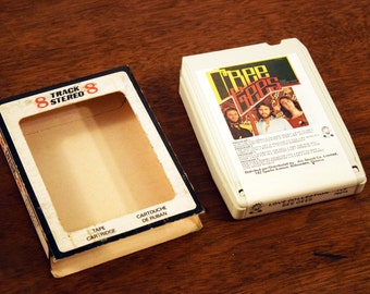The BeeGee's 8track Music Cartridge - Very Good Condition with Original 8 Track Sleeve - BEEGEES - The Love Collection - Made in Canada