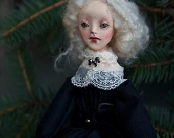 Mara, handmade OOAK art doll.
