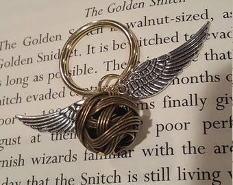Golden Snitch Key Chain