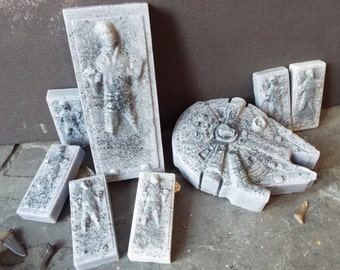 Goatsmilk & Charcoal StarWars Soaps - Set of 8 soaps