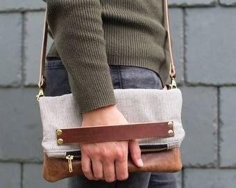 leather bag, leather handbag, clutch bag, leather bag, evening clutch, crossbody bag, boho handbag