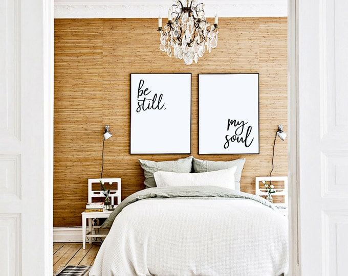 Still In Bed Quotes: 10% OFF Coupon On Be Still My Soul Art Print Posters