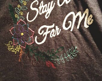 Stay Alive For Me - Hand Drawn TShirt - TØP - Truce