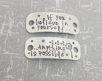If you believe in yourself.. Anything is possible -  Trainer Tags