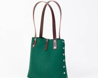Small Felt Shoulder Bag, Felt Handbag; Bags & Purses, Shoulder Bags, Handbags