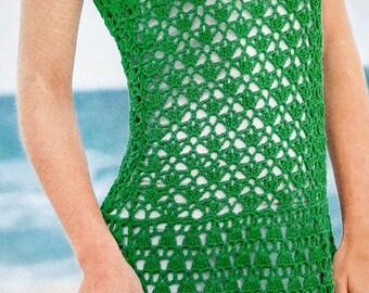 Handmade crochet top, blouse, summer tunic, summer beach dress, hoodie vest shrug crochet clothes MADE TO ORDER