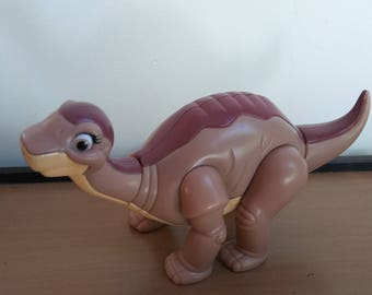 Vintage 1990s Little Foot Dinosaur Wind Up Toy