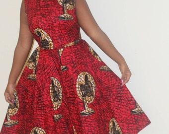 Midi African Skirt