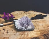 Amethyst Crystal Geode Quartz Cluster For Home or Workspace Decor