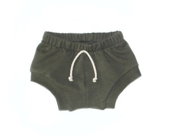 shorties in olive
