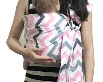 Ring Sling for baby Baby Carrier Baby Slings Color Wave