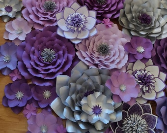 Paper Flower Wall Decor large paper flower wall backdrop