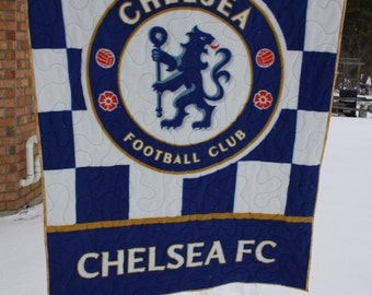 Chelsea Football Club Fleece Lap Quilt