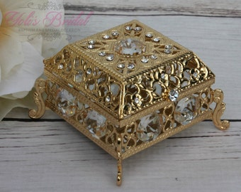 Ring Box or Wedding Unity Coins, Wedding Arras