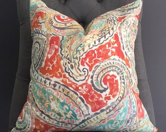 Pillow Cover, Ikat Pillow Cover, PATSY