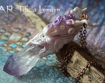 Dragon Necklace   Fantasy Jewellery MAGICAL!