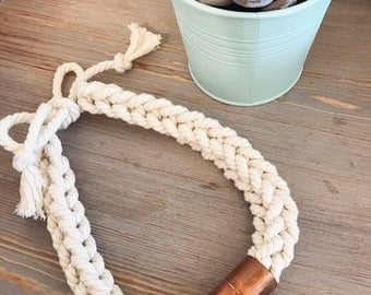Rope necklace (Natural)