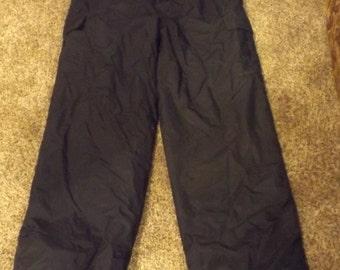 SALE Mens Sport Essentials Insulated Ski Pants Black Goth XL