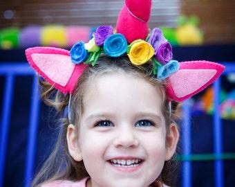 Raspberr-icorn Unicorn Headband || *Unicorn Dress Up*