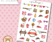 """Planners Stickers """"Printemps"""""""