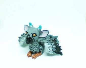 Trico sculpture, The Last Guardian, Trico, Trico figurine, The last guardian trico, Griffin figurine, Fantasy animal sculpture