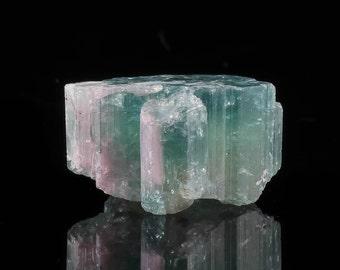 11.5g Blue & Pink TOURMALINE Crystal - for Jewelry Making, Pink Tourmaline Ring, Blue Tourmaline Necklace, Rough Tourmaline Jewelry 23318