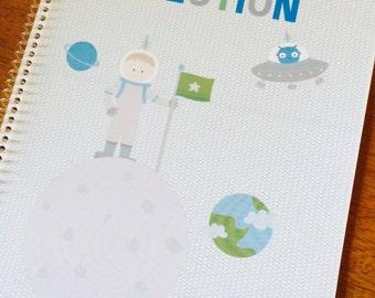 Spacey Explorer Sticker Book