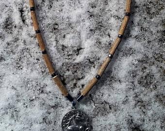 Woods of Hazel Celtic Medallion necklace