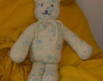 Merino teddy cat