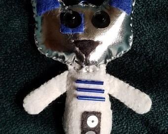 R2D2 Star Wars Minis 3in Kitty Felites (Cat Doll Ornament Keychain)
