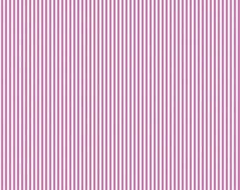 Splendor by Lila Tueller for Riley Blake - Pink White Stripe - Sold by the yard