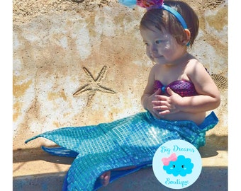 Little Mermaid Costume for Toddlers and Girls, Mermaid Costume for Toddlers and Girls