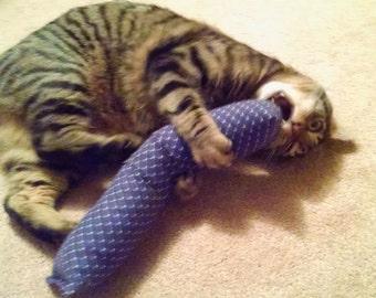 15 in. Giant Kitty Kicker Stick W/Catnip Pocket / Catnip Kicker Toy / Catnip Kitty Kicker Stick