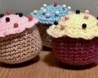 Cupcakes Pincushion