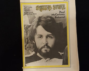 Rolling Stone Magazine #57 30/4-1970 Paul McCartney.