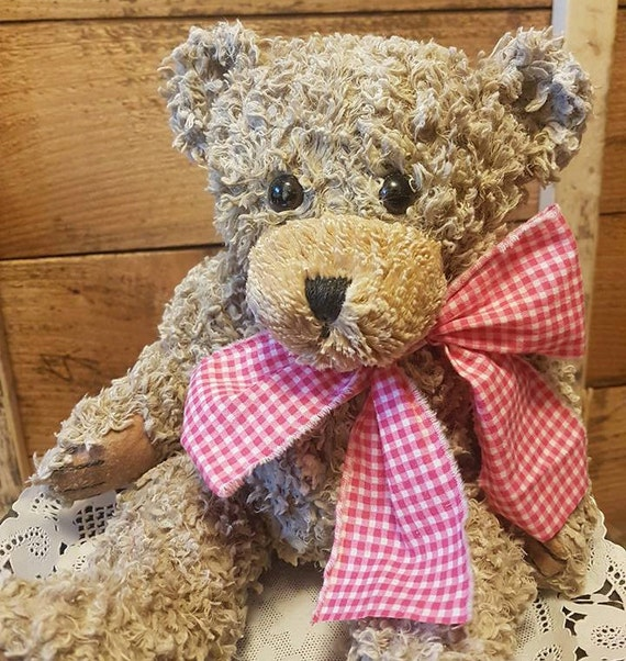 Scented Wax Dipped Teddy Bear