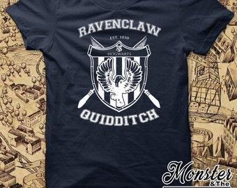 Ravenclaw House Quidditch Ringspun T-Shirt