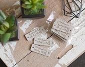 Personalisierte Etiketten-Set von 10 Branding Tags für handgemachte / Branding Borte / Lederwaren Label / / Leder Patches / / Handwerk Label Tag