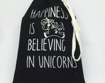 Happiness is Believing in Unicorns