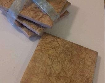 Elegant Tile Coasters