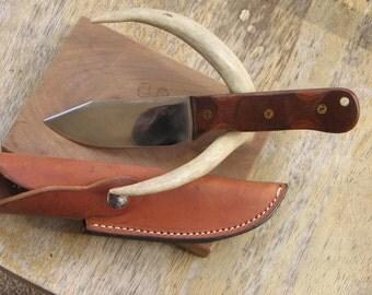 Micarta Handled Hunting Knife