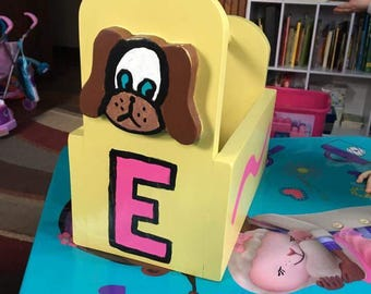 Child's toolbox.