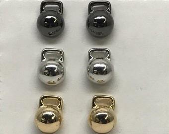 Kettlebell Earrings